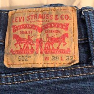 Levis 502 jeans 38W 34L